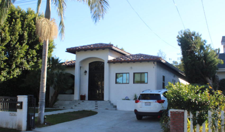 Spanish Style House, Green Leaf st, Sherman Oaks, CA, 91403