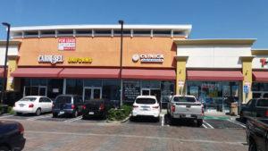 Strip mall development
