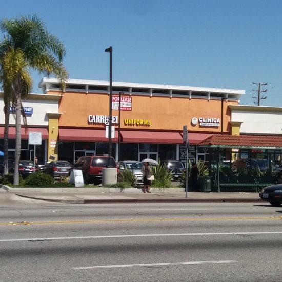 Mini Shopping Center | Santa Fe Plaza, E. Florence Avenue, Huntington Park, CA, 90255